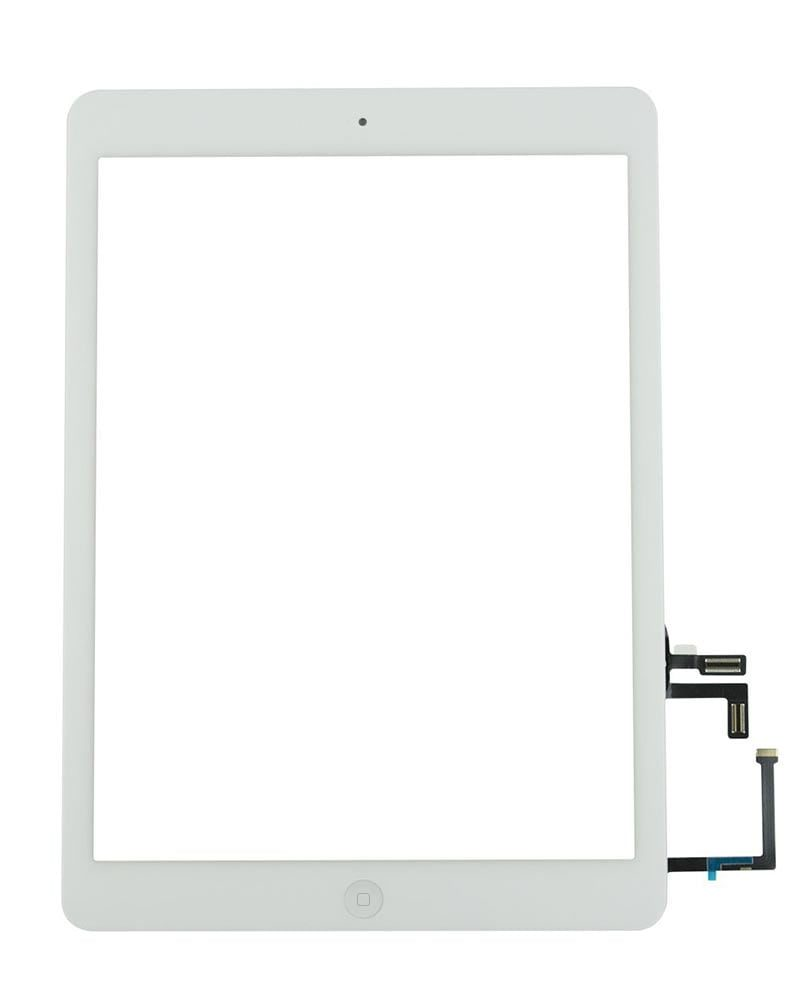 Display, Glas, Digitizer - iPad Air - Vit