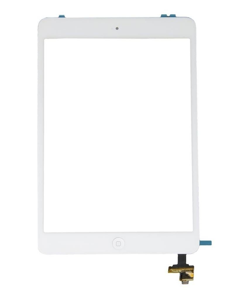Display, Glas, Digitizer - iPad Mini - Vit