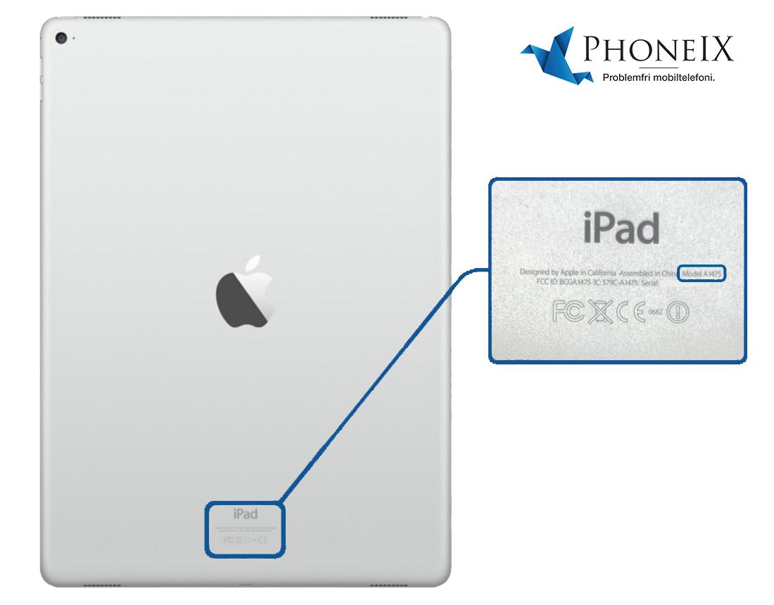 Vilken iPad-modell har jag
