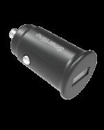 Smartline Billaddare med USB svart