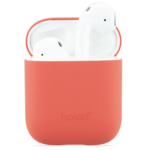 Holdit Silikonfodral AirPods Korall