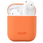 Holdit Silikonfodral AirPods Orange