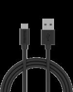 Smartline Micro-USB kabel 2m svart