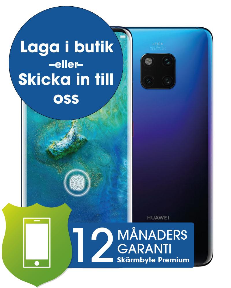 Huawei Mate 20 Pro Skärmbyte