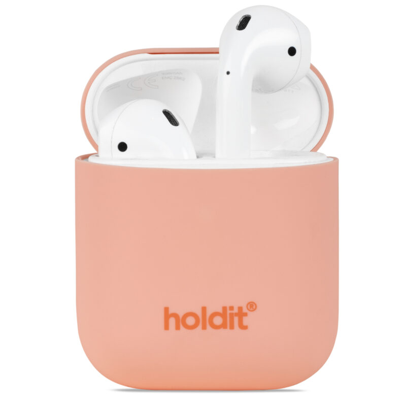 AirPods Silikonfodral Pink Peach